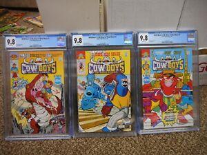 Wild West C O W Boys Of Moo Mesa 2 3 1 All Cgc 9 8 Mint Archie 1993 Abc Tv Sh Ebay