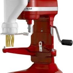 Kitchen Aid Pasta Cabinet Glass Kitchenaid Mixer Maker Press Stand Attachment Kpexta 6 Refurb Rr Pc