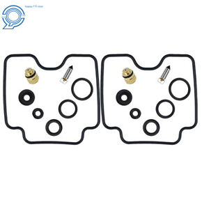 2xLower Bowl Carb Carburetor Rebuild Kit for Yamaha