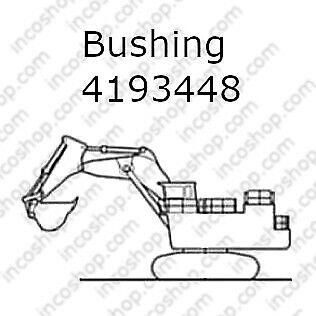 4193448 Bushing, Boom & Arm Cylinder for Hitachi