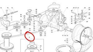 CASTEL GARDEN transmission gearbox drive belt TC102 TCP102