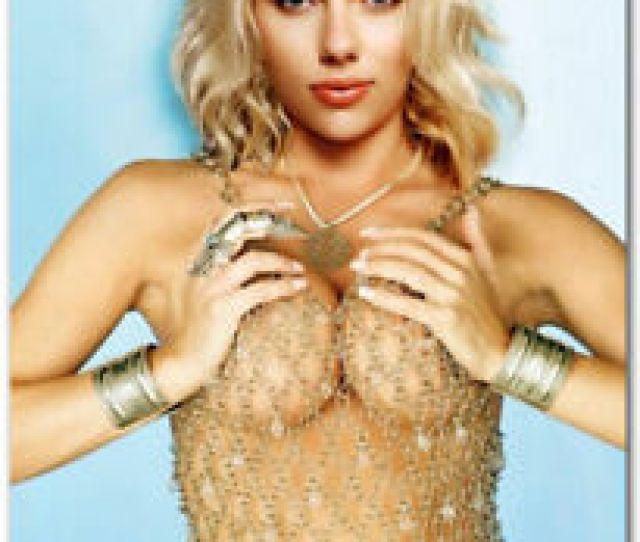 Scarlett Johansson Sexy Blonde Golden Refrigerator Magnets   X