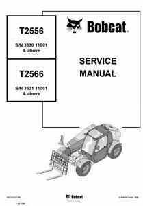 BOBCAT T2556 T2566 TELESCOPIC HANDLER Service Repair