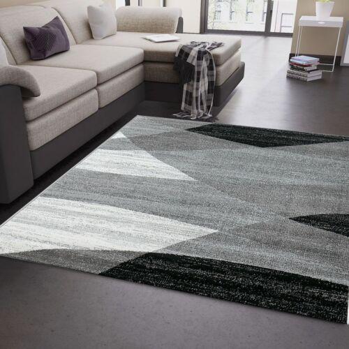 tapis moquettes tapis salon moderne geometrique motif chine en gris blanc noir neuf maison zahnarztpraxis hohe muehle de