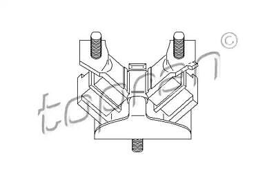 Engine Rubber Mounting Fits RENAULT 19 Megane Coupe MPV