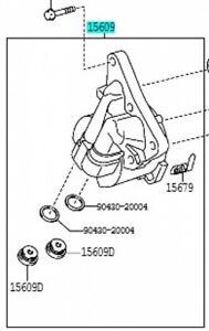 TOYOTA 15609-37020 Oil Filter Bracket Sub Assy Corolla