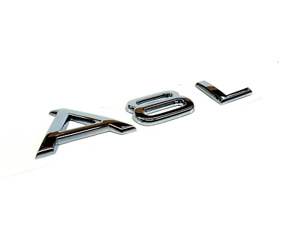 Audi A8 D3 Rear Chrome A8L Emblem 4E0853741A2ZZ New