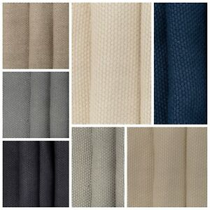 details about designer 100 linen curtain fabric heavy plain soft upholstery cushion material