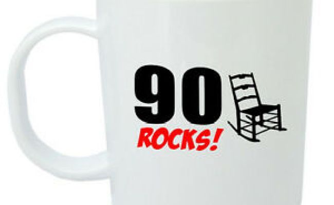 90 Rocks 90th Birthday Gift Mug Ideal Gifts For 90 Year Old Men Or Women Ebay