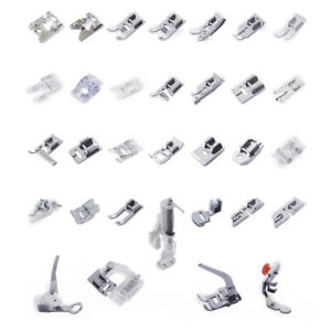 32x Domestic Sewing Machine Presser Foot Feet for Brother