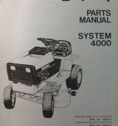 simplicity 4008 4208 4108 lawn tractor mow parts manual 1690173 1690174 1690176 for sale online [ 1200 x 1600 Pixel ]