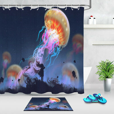 the colorful jellyfish theme waterproof