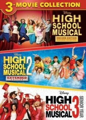 High School Musical 1 Film : school, musical, SCHOOL, MUSICAL, MOVIE, COLLECTION, Sealed, 786936863789