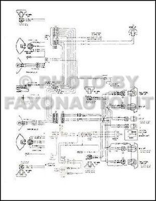 1975 GMC Astro 95 Chevy Titan 90 Foldout Wiring Diagram