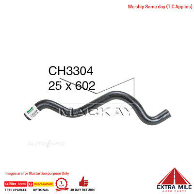 CH3304 Coolant Recovery Tank Hose Ford Falcon BA 4.0L I6