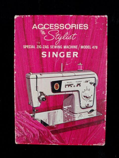 Singer Sewing Machine Parts For Sale : singer, sewing, machine, parts, SINGER, Stylist, Sewing, Machine, Accessories, Model, Number, 161965, Online