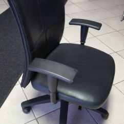 Steelcase Chair World Market Adirondack Chairs Reviews Executive By Leap V1 Fully Loaded In Purple Fabric Turnstone Black Leather Desk Pick Up Only