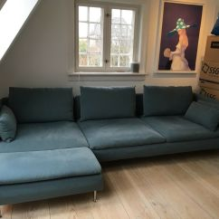 Billige Sofa Til Salg Leather Dyers 4 Pers Ikea Söderhamn  Dba Dk Køb Og Af