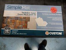 tile bonding adhesive countertop backsplash shower wall 10sq ft setting mat