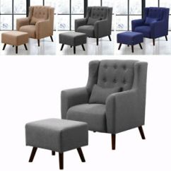Large Tub Chair Types Of Chairs Armchair Bedroom Relaxing Accent And Matching Image Is Loading