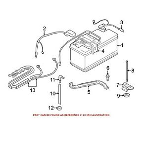 Genuine NEW Battery Cable Harness To Distribution Box For
