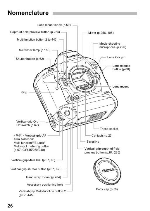 Top Qualität Canon EOS 1DX Mark II OWNER INSTRUCTION