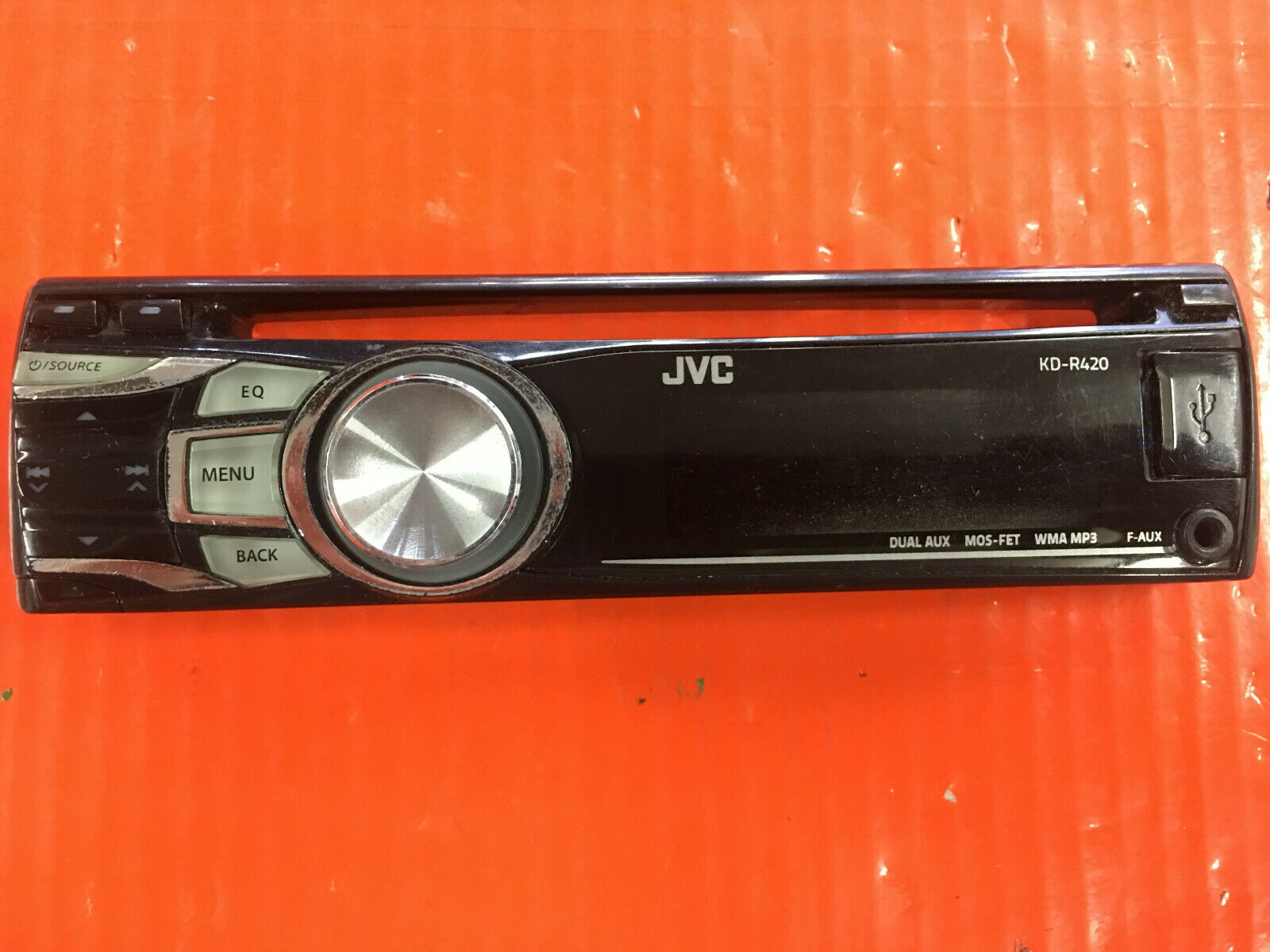 hight resolution of jvc kd r420 cd player mp3 usb in dash receiver for sale online ebay wiring diagram for jvc kd r420
