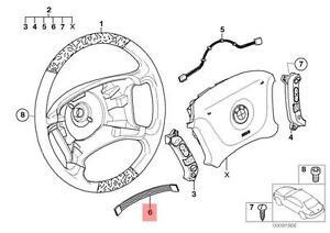 Genuine BMW E38 E39 Estate Adapter Wire f airbag module