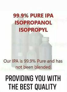 IPA Rubbing Alcohol Isopropanol PURE ALCOHOL 99.9% kills ...