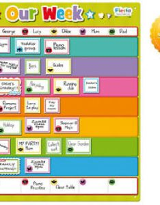 Image is loading autism magnetic planner weekly activity chart our week also visual rh ebay