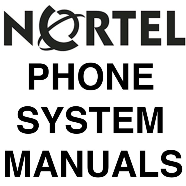 HUGE Norstar Nortel Manuals Phone System Setup Install