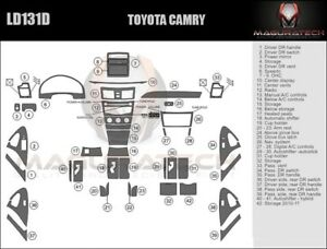 Fits Toyota Camry 2007-2011 NO Factory Wood Large Premium