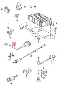 Genuine Knock Sensor With Wiring Harness VW EuroVan 70 7D