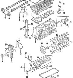 1999 2000 bmw m52tu 2 5l 6 cyl engine housing cylinder block z3 e46 bmw m52tu engine diagram [ 993 x 1569 Pixel ]