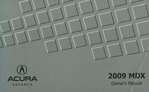 Bishko OEM Maintenance Owner's Manual Bound for Acura Mdx