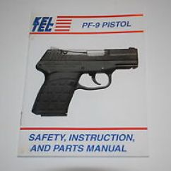 Kel Tec Pf9 Parts Diagram Ford Super Duty Radio Wiring 9mm Factory Manual Instruction Book Keltec P11 Pmr Image Is Loading