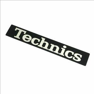 TBMA7331 Technics Sticker Black Label Turntable SL-1200 SL