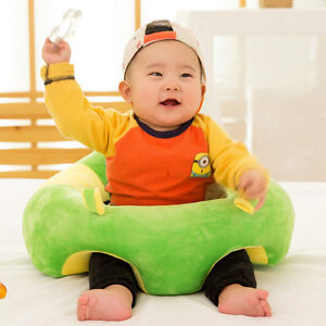 chair to help baby sit up folding chairs wood support seat soft dining cushion sofa plush pillow image is loading