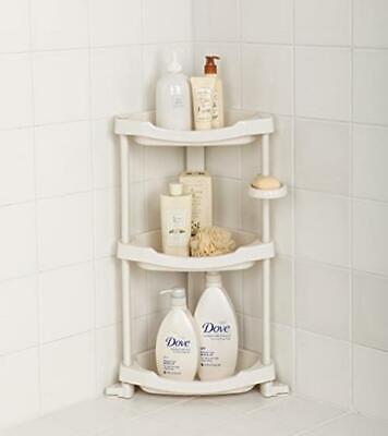 shower shelf organizer corner storage caddy bath rack holder 4 tier bathroom