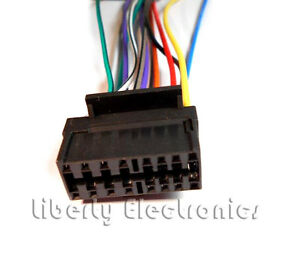 sony cdx gt55uiw wiring diagram 4 pin relay driving lights harness great installation of new wire for player ebay rh com color code 12
