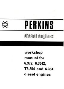 Massey 6.372 6.3542 T6.354 6.354 Perkins Diesel Engine