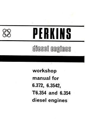 Massey 6.372 6.3542 T6.354 6.354 Perkins Diesel Engine