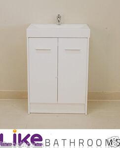 Waterproof 600mm Narrow Bathroom Vanity Unit Ebay