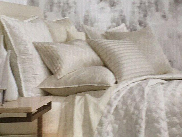 hotel collection standard quilted pillow sham alabastar
