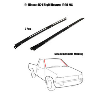 Side Windshield Molding Fit BigM D21 Hardbody Pathfinder