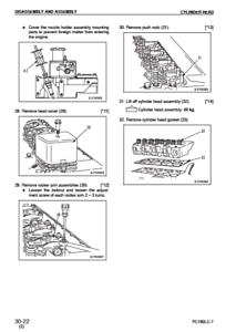 Komatsu Excavator PC400-7 PC400LC-7 PC450-7 PC450LC-7