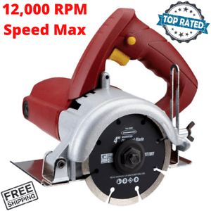 details about tile cutter saw dry cut 4 inch handheld circular saw adjustable cutting depth