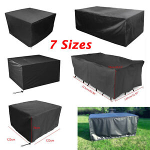 details about waterproof garden patio furniture cover covers table sofa bench cube outdoor uk