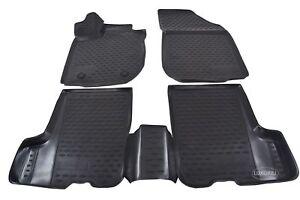 details sur 3d tapis de sol caoutchouc a bords hauts pour dacia sandero 2012 2020 noir