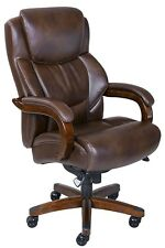 big and tall computer chairs orange adirondack chair lane bonded leather executive chocolate brown ebay item 8 office desk high back new